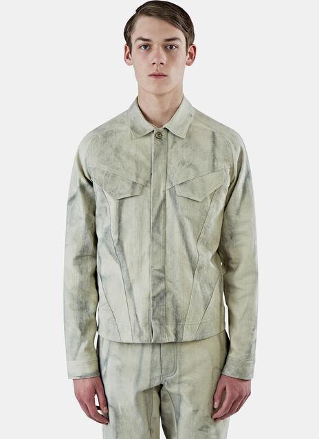 Arc Raglan Sleeve Denim Jacket