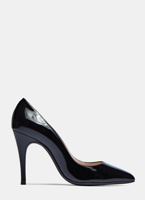 Patent Heeled Pumps