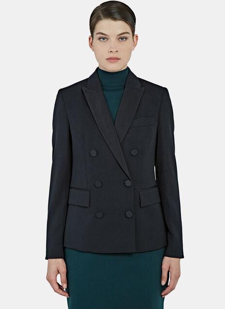 Karen Double-Breasted Tuxedo Jacket