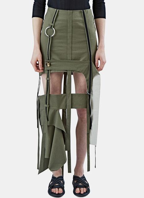 Long Strapped Skirt