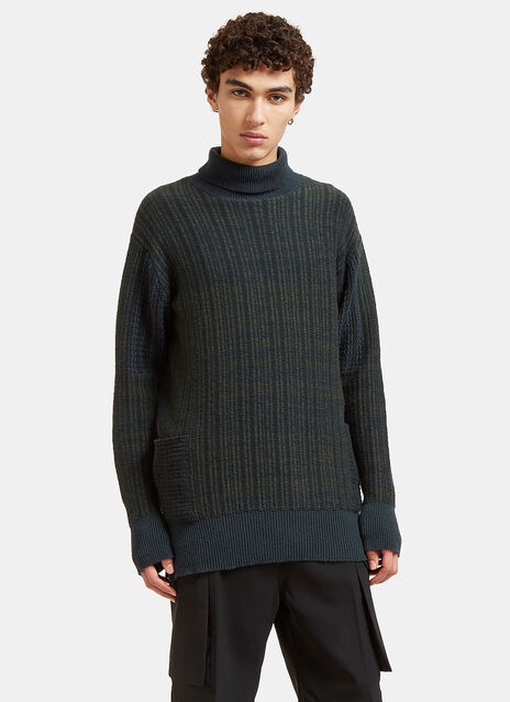 Curiex Mix Big Turtle Neck