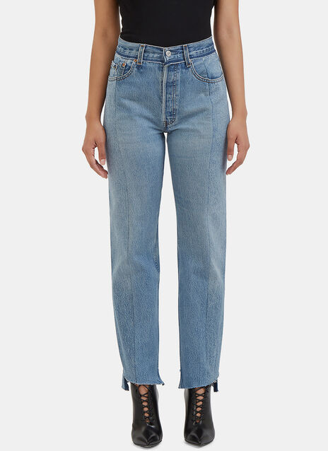 Reworked Straight Leg Jeans