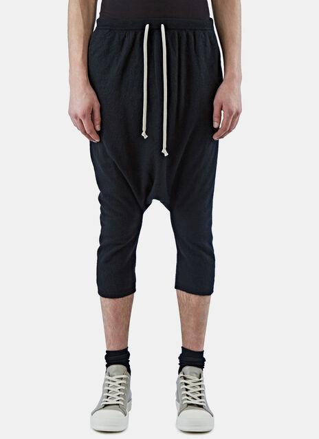 Cashmere Dropped Crotch Pants