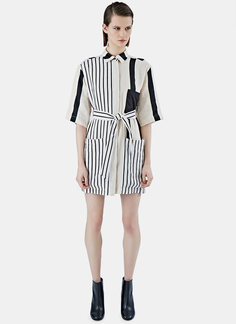 Cabell Li Striped Dress