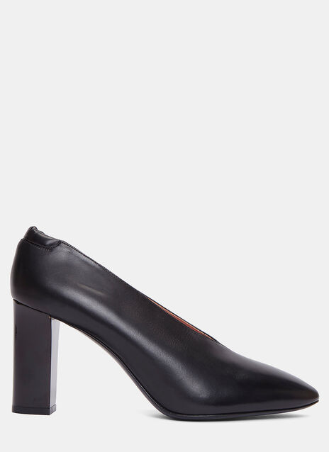 Aja Block Heeled Pumps