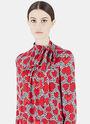 Floral Heart Print Dress