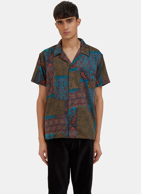 Paisley Short Sleeved Shirt