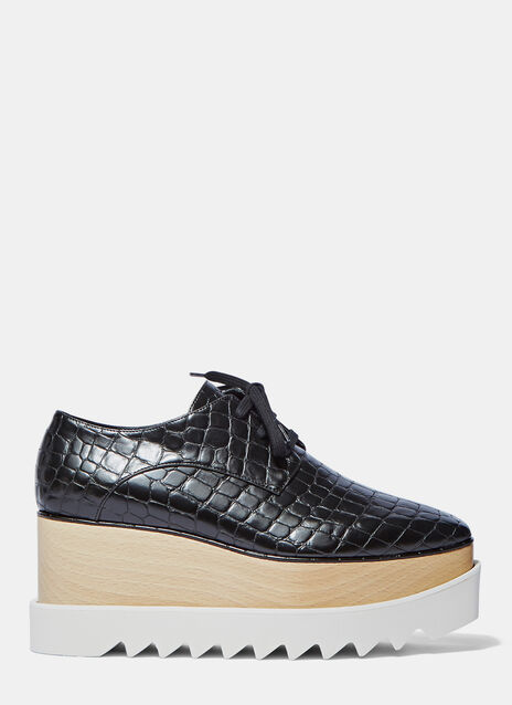 Elyse Faux Crocodile Platform Shoes