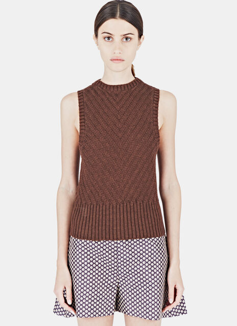 Thick Knitted Tank Top