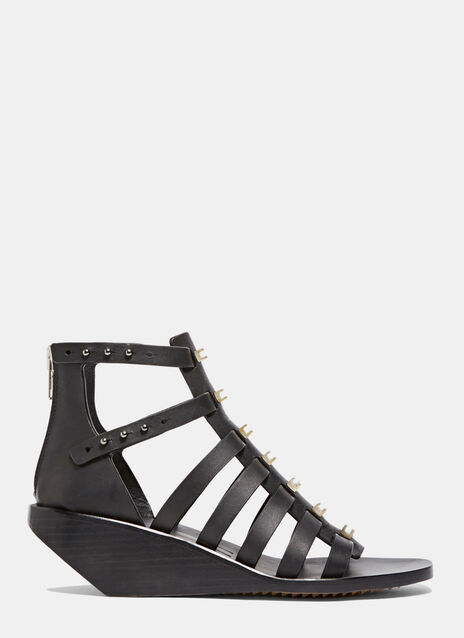 Central Studded Low Sandals