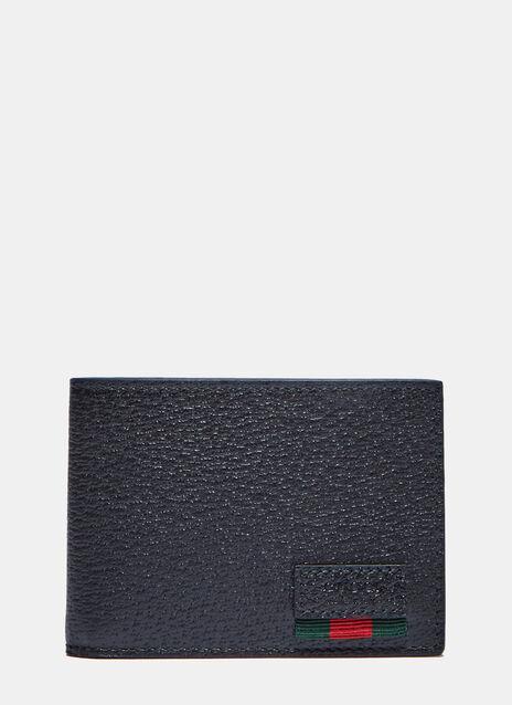 Textured Dollar Ribbon Basic Fold Wallet