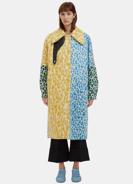 Bertilyn Leopard Print Coat