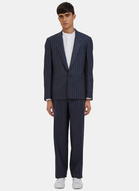 Cable Striped Two Piece Suit