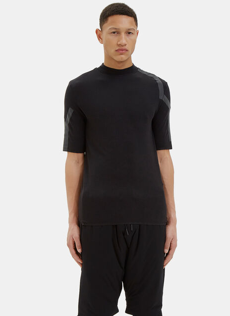 Mock Neck Merino T-Shirt