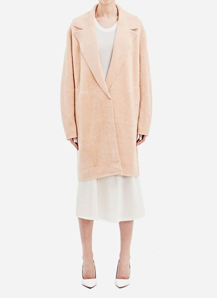 Sonia Rykiel Double Faced Fuzzy Coat
