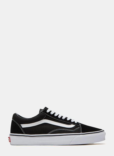 Classic Old Skool Suede Panel Sneakers