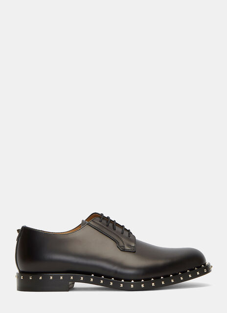 Rockstud Derby Shoes