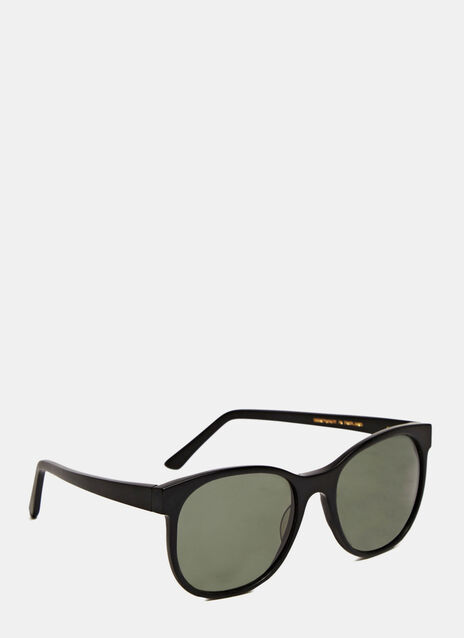 Larke Horne Matt Black Sunglasses