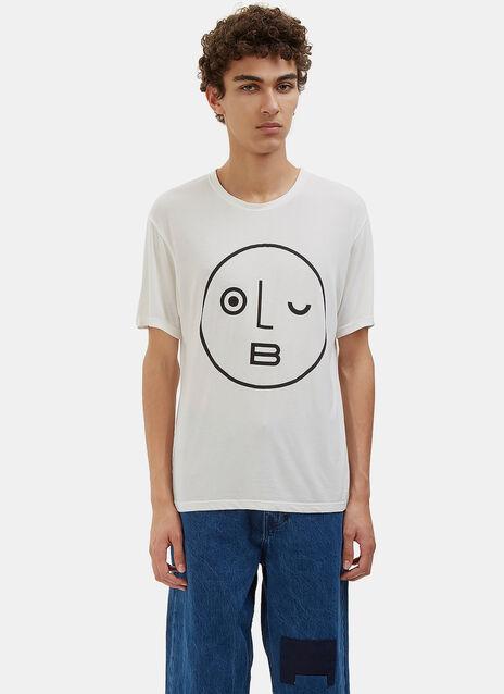 Logo Printed Crew Neck T-Shirt
