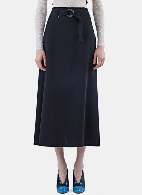 Sanet Long Wrap-Over Skirt