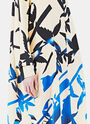 Long Silk Printed Dress 20