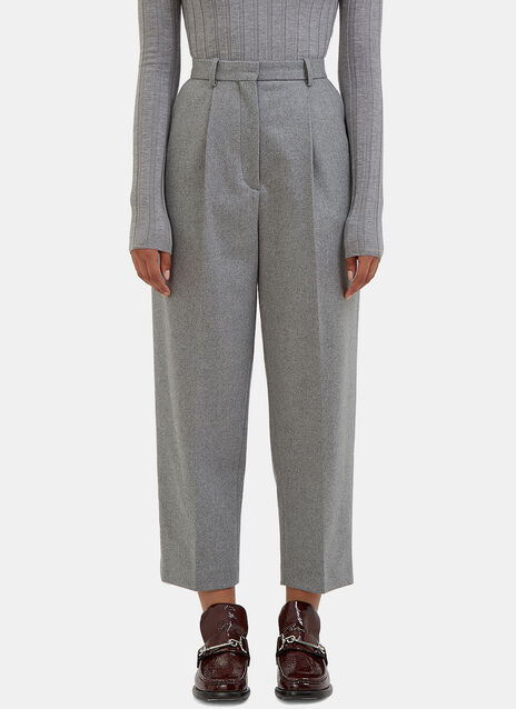 Milli High-Waisted Cropped Pants