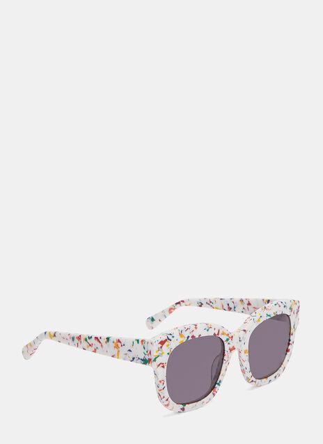 Multicolour Flecked Sunglasses
