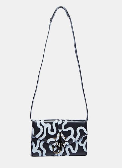 Printed Monogrammed Logo Handbag