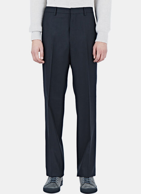 D8 Wide Leg Wool Pants