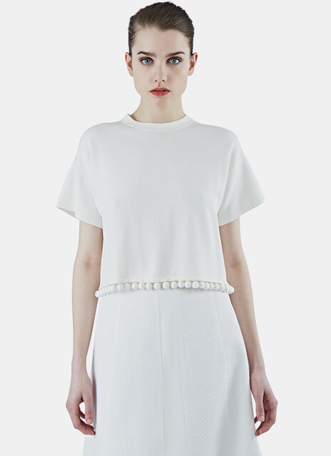 Double Face Cropped T-Shirt