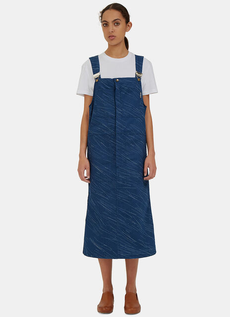 Folly Laser Rain Dungarees Dress