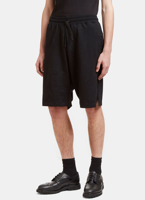 Virgin Wool Blend Shorts