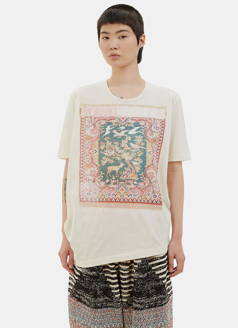 Tapestry Print T-Shirt