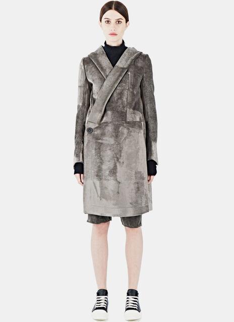 Long Velvet Coat