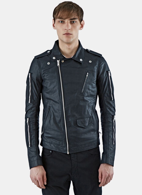 Stooges Leather Biker Jacket