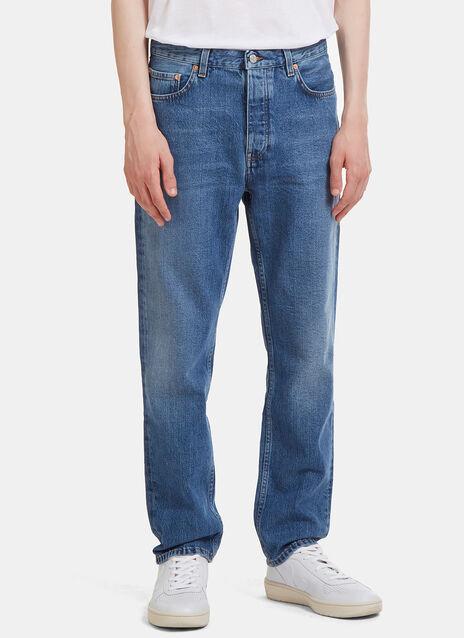 Van Mid Straight Leg Jeans