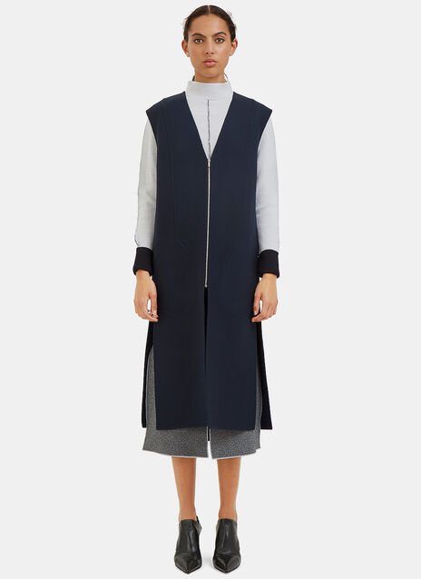 Oversized Double-Faced Gillet