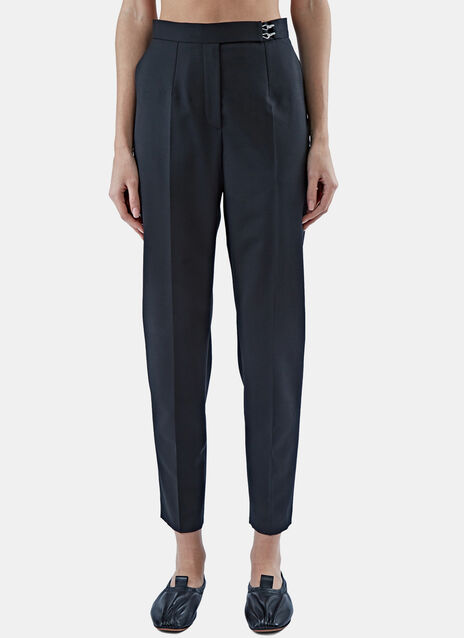 Slim Central Pleat Pants
