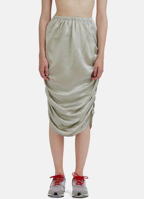 Mid-Length Nador Ruched Skirt