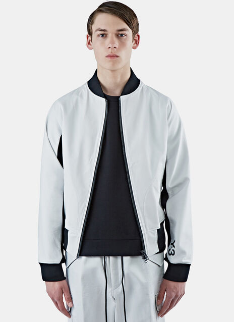 Future Contrast Ribbed Bomber Jacket