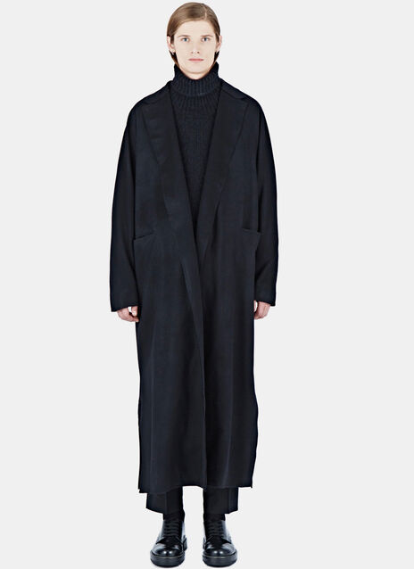 Long Loden Wool Coat