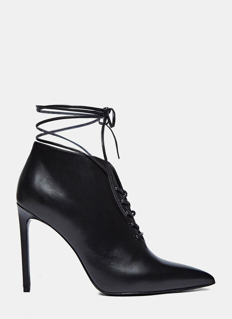 Paris 105 Laceu Lace-up Stiletto Boots