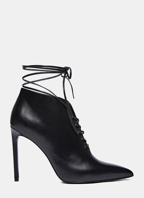 Paris 105 Laceu Lace-up Stiletto Boots