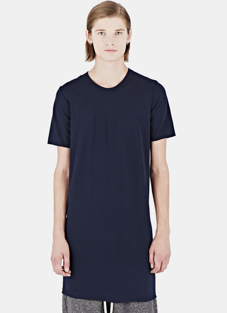 Doubled Short Sleeved Tunic Top
