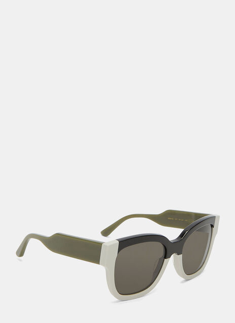 Monochrome Squared Sunglasses