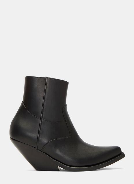 Slanted Heel Cowboy Boots