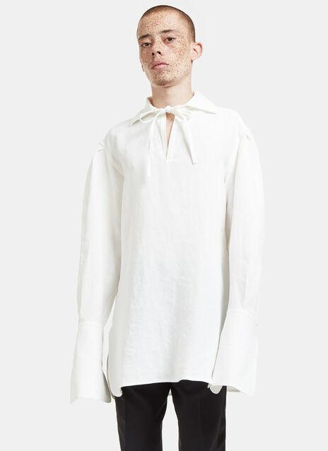Raf Tie Oversized Shirt