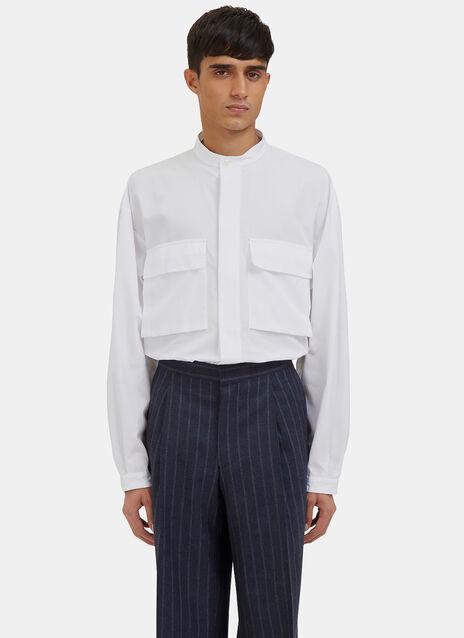 Bulmer Oversized Patch Pocket Shirt