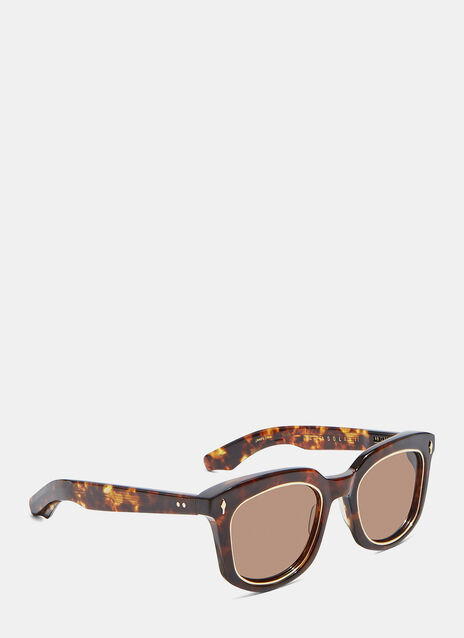 JACQUES MARIE MAGE PASOLINI SUNGLASSES IN TORTOISE