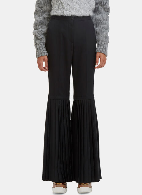 Chellini Semi-Pleated Suiting Pants